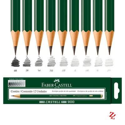 c99c5d969c Lápis Técnico Graduado Faber 9000