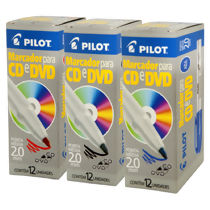 Marcador Permanente para CD e DVD (2.0 mm) Pilot