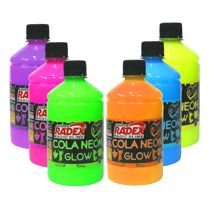Cola Colorida Neon Glow (500g) Magic Slime Radex