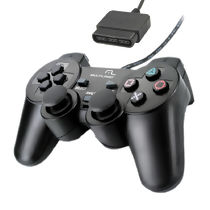 Controle com Fio para PlayStation 2 Dual Shock Multilaser JS043