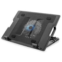 "Base para Notebook Ergonômica (17"" Pol) Cooler LED AC166 Multilaser"
