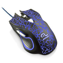Mouse com Fio USB Gamer Lightning 2400dpi Multilaser MO250