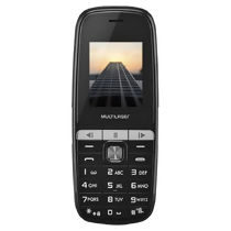 "Celular Up Play Dual Chip 2G MP3 Tela 1,8"" Câmera P9076 Multilaser"