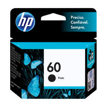 Cartucho de Tinta Original HP 60 (4,5ml) Preto (CC640WB)