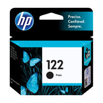 Cartucho de Tinta Original HP 122 (2ml) Preto (CH561HB)
