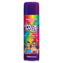Tinta Spray para Cabelos (150ml) Cores Sortidas Fluorescente Color Fest