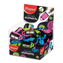 Apontador Simples Maped Elements Chaveiro