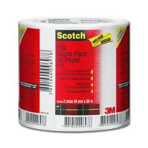 Fita Adesiva Dupla Face de Papel Scotch (48 mm x 30 m) PT 02 UN 3M