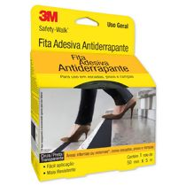 Fita Adesiva Antiderrapante Safety-Walk (50 mm x 5 m) Preto 3M