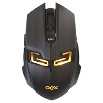 Mouse com Fio Óptico USB Gamer (4000dpi) Killer LED MS312 OEX