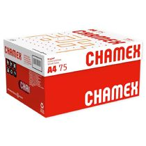 Papel Sulfite A4 (210 x 297 mm) 75g/m² Chamex Office 10 x 500 Folhas